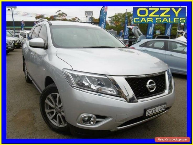 2015 Nissan Pathfinder R52 MY15 ST (4x2) Silver Automatic A Wagon #nissan #pathfinder #forsale #australia