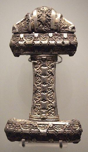 Museum of Scotland, Viking sword hilt