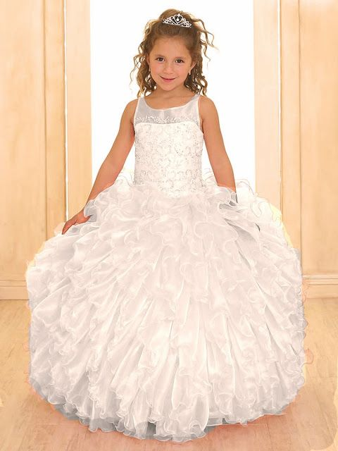 vestidos de primera comunion largos