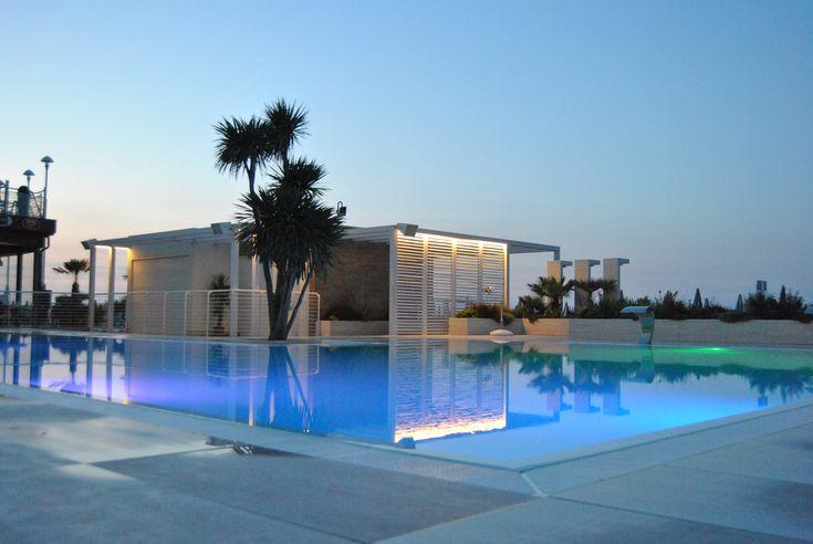 wellnes piscina pool swiming palestra sunset palm