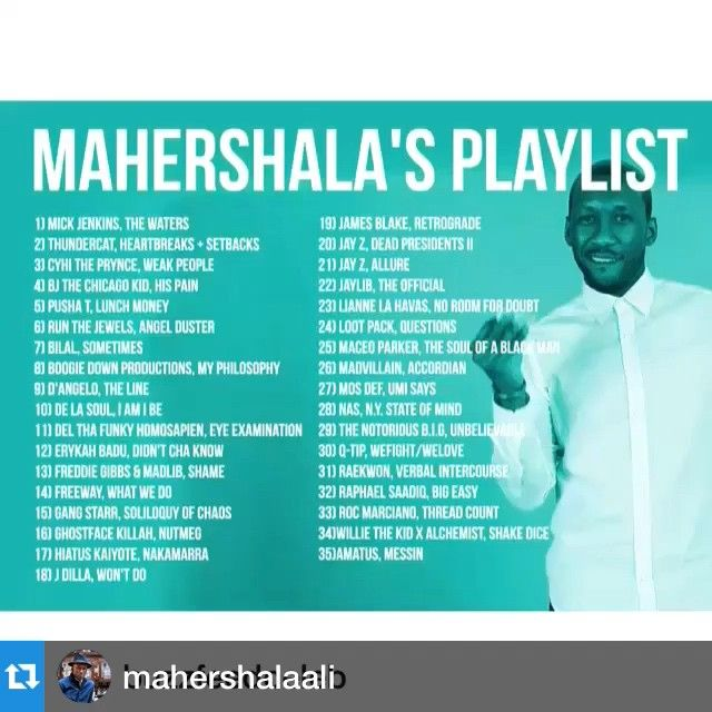 Thx for putting us on your list!!@mahershalaali @buzzfeed