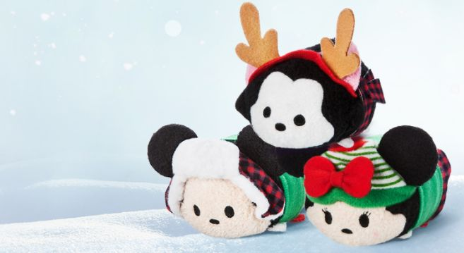New Mini Christmas Tsum Tsum Plush Available Today