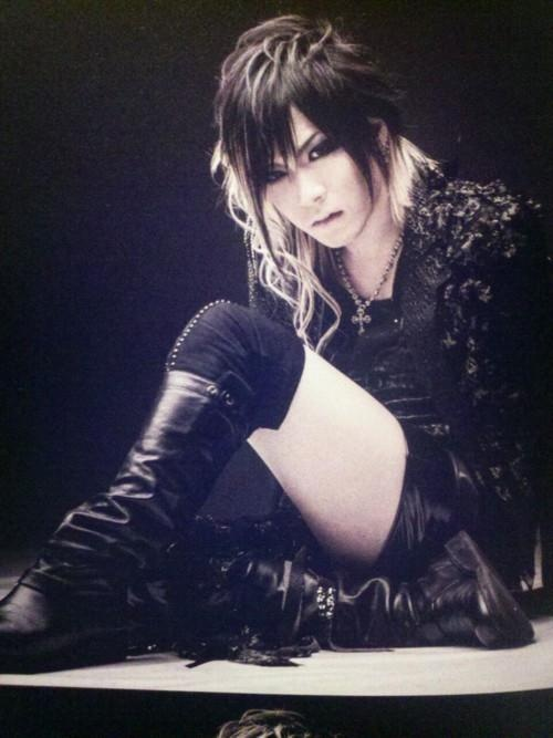 "Uruha's hair from ""Division"" <3"