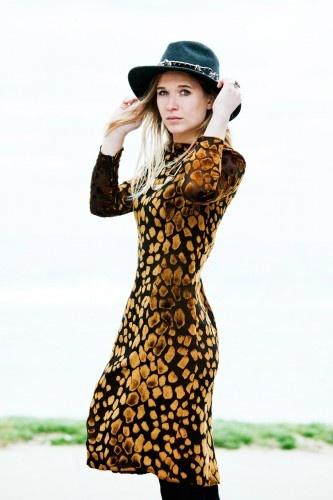 Wild Belle - devore dress