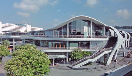VIVO city(ヴィヴォシティ), シンガポール / 伊東豊雄
