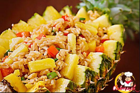 Resep Nasi dan Penggantinya, Nasi Buah Sayur, Menu Vegetarian Sehari-hari, Club Masak