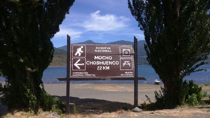 Choshuenco, region de Los Rios, Chile
