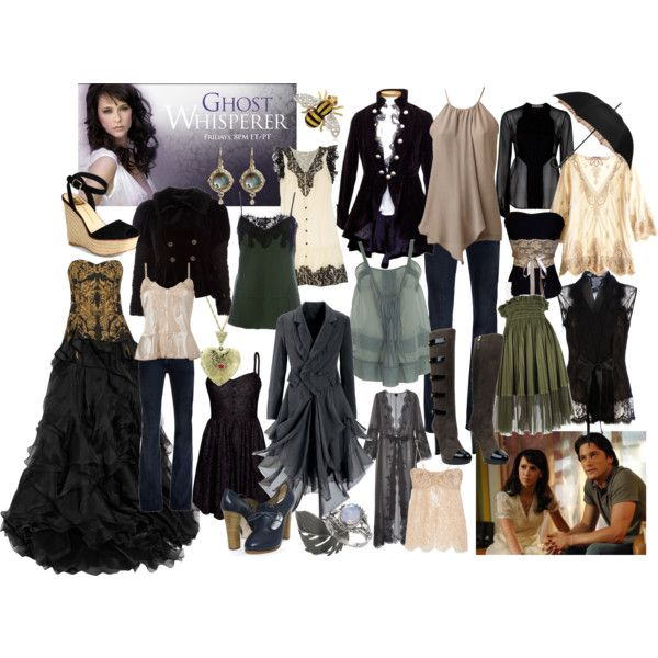 "wardrobe plot for Melinda Gordon from ""Ghost Whisperer"" - Bri (b-scottyer on Polyvore)"