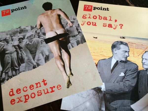 Our beautiful flyers. #decentexposure #globalyousay #72seminar #Nov2014 #Manchester (photo taken by Emma Gibson)