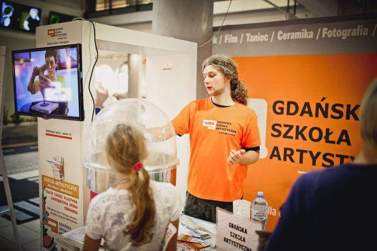 Gdańska Szkoła Artystyczna oprócz śpiewów i tańców zapewniła też watę cukrową :)