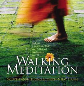 Mindful Walking ~ No great understanding is required, simply the attention of your mind on your Breath, Foot Steps, and the Ground.