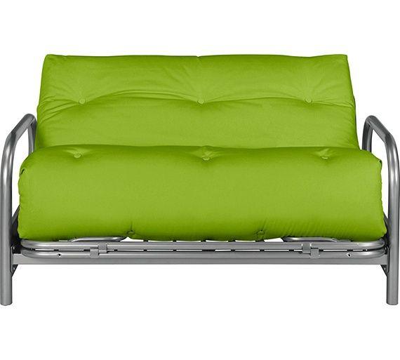 Colourmatch Mexico Futon Sofa Bed With Mattress Le Green At Argos Co