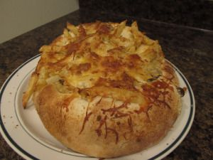 Pasta Bread Bowl