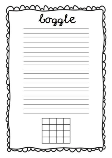 Tijdens spelinloop of na de taaltoets laat ik de kinderen in groep 3 af en toeBogglespelen. Dit is een hele leuke manier om te werken aan spelling en taalinzicht. Je kunt het op verschillende manieren spelen. De uitdaging is om zoveel mogelijk verschillende woorden met de beschikbare letters uit het raster te maken. Hoe speel je het? Wanneer je het spel voor de eerste keer laat spelen kun je het beste zelf de letters kiezen,