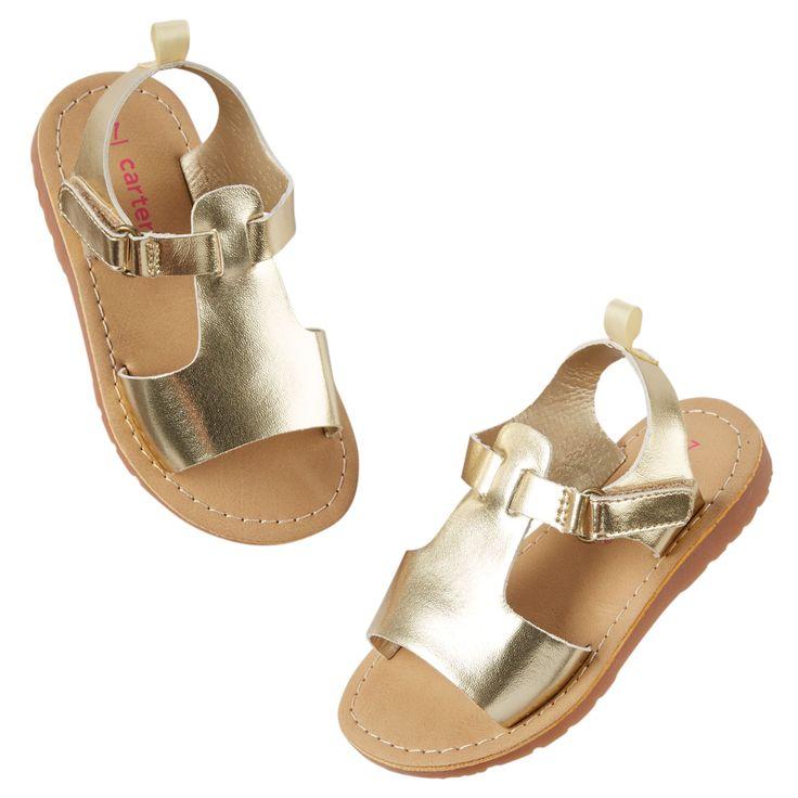 Carter's Metallic Sandals