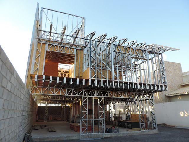 o que light steel frame dica da arquiteta