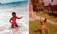 Barack and Michelle Obama tweet childhood photos –'You're not young and invincible forever' | US news | The Guardian