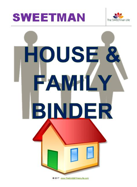 Household checklists in their very own binder can become the central repository for everyone in your home to keep track: Family, Kids, Home, and Food.