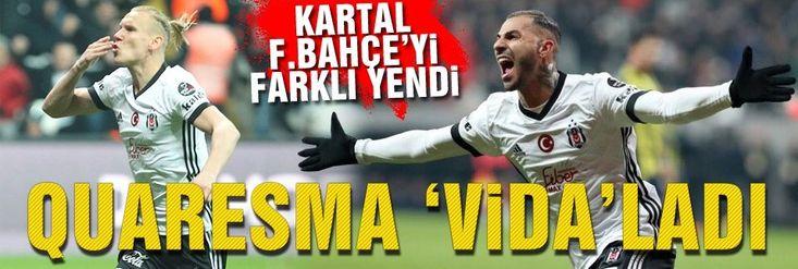 Quaresma derbide Fenerbahçe'yi avladı!