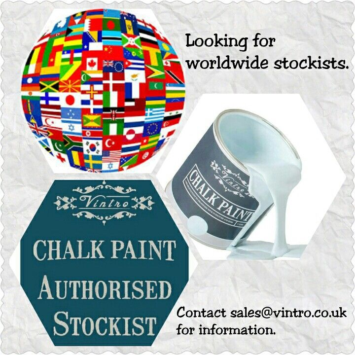 We are looking for new stockists. If you are a paint or painted furniture shop and you would like to stock paint, contact sales@vintro.co.uk for information.