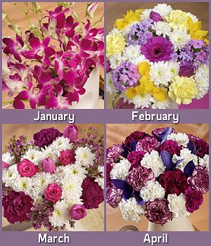 Flowers For A Year   Monthly Flowers Every Month For A Year   Bunches.co.uk~ My favourite website for my orders to family & friends to the UK... been using them for over 5yrs & they have never let me down or disappointed! Great service, great flowers, great prices!!
