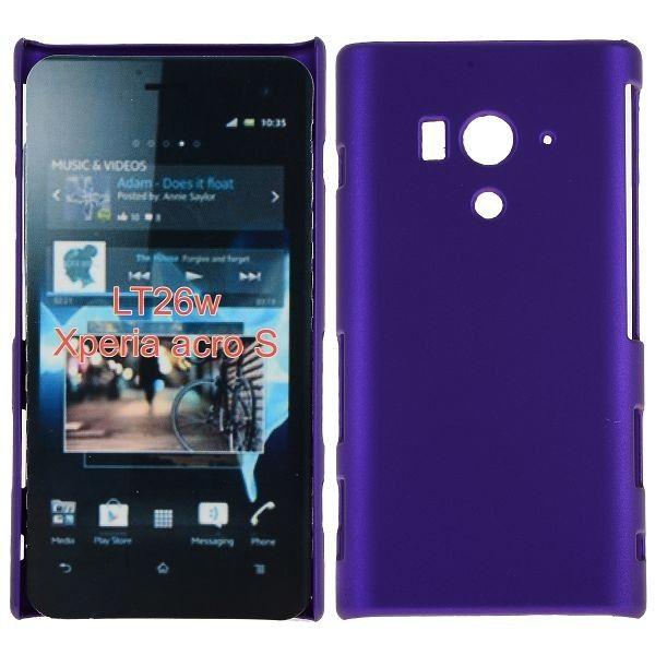 Hard Shell (Violetti) Sony Xperia Acro S Suojakuori