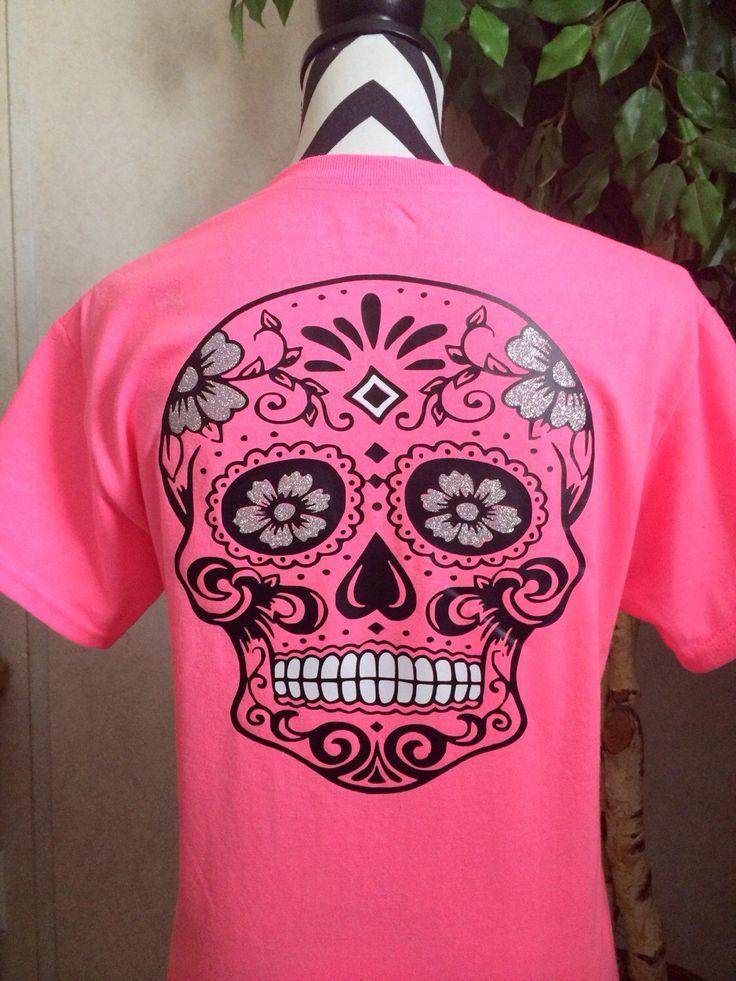 25  best ideas about sugar skull shirt on pinterest