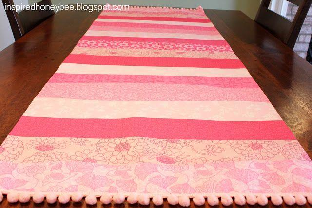 14 best quilts i have made images on pinterest crazy for Diy valentine table runner