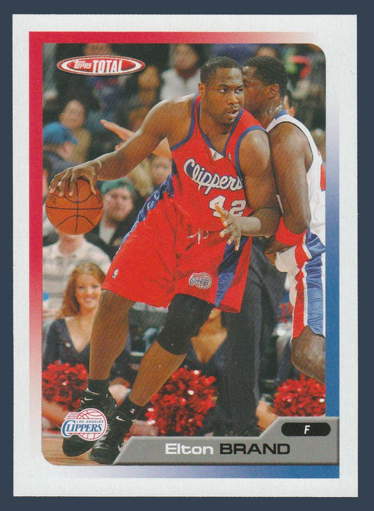 Elton Brand # 12 - 2005-06 Topps Total Basketball - Team Checklist