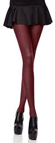 Merry Style Femmes Opaque Collants Microfibre 70 DEN (Bordeaux, 1/2 (30-36)): Tweet Collant ultra confortable, souple et lisse. Tissé avec…
