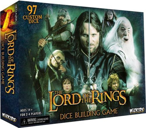 Lord of the Rings Dice Building Game: The Lord, Rings Dice, Lotr Lord, Building Games, Boards Games, Dice Games, Cards Games, Dice Building, Lord Of The Rings