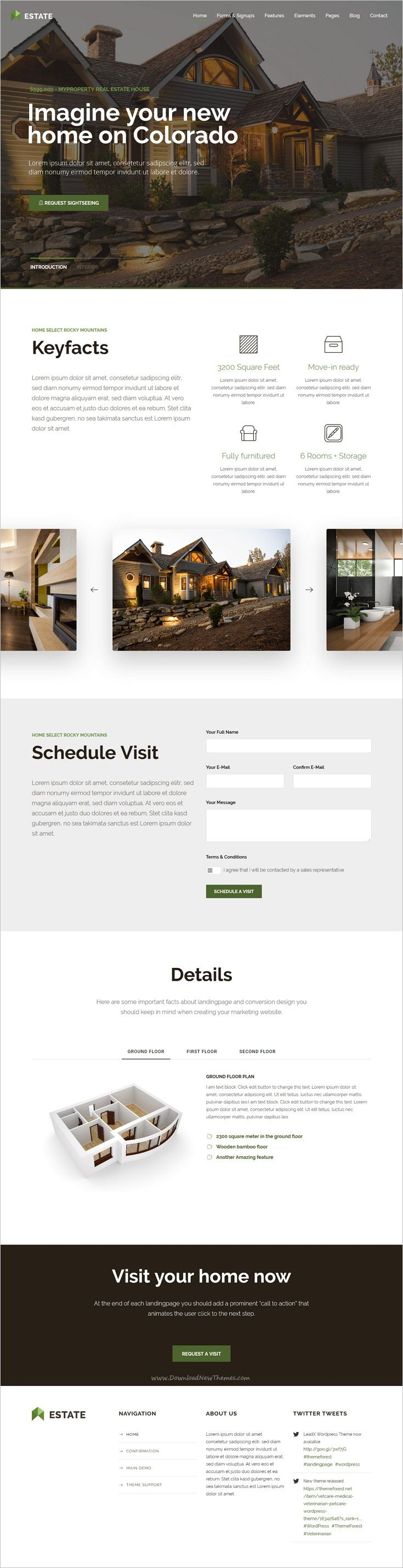 Leadx is a responsive #WordPress template for #property #realestate Lead Marketing Landing Page website download now➩ https://themeforest.net/item/leadx-landing-page-marketing-wordpress-theme/17840700?ref=Datasata