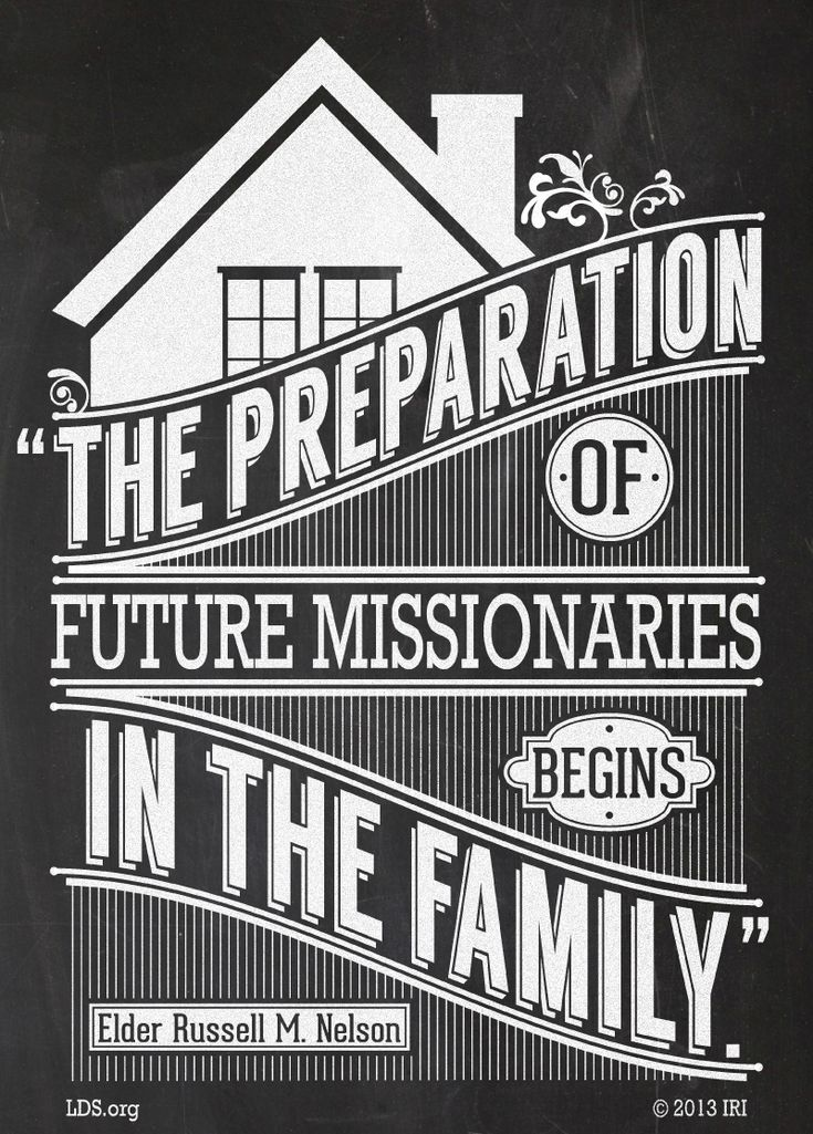 Create a mini-missionary training center in your home as you help your children