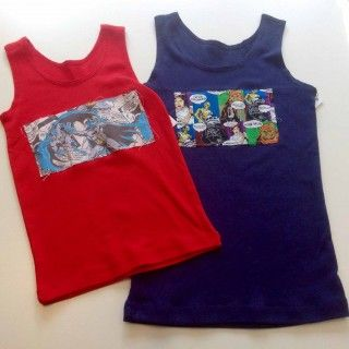 Lush Pinnies - Mel Wells Tank Tops  Young People Cotton