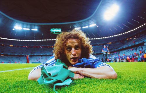 chelsea fc Luiz, before the new 5 year deal