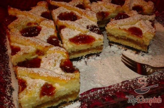 Ünnepi karácsonyi réteges sütemény kelt tésztából   TopReceptek.hu