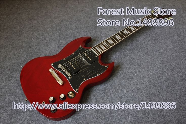 247.00$  Watch here - http://alij0y.worldwells.pw/go.php?t=32747071048 - Hot Selling Chinese SG Electric Guitars With P-90 Pickups As Pictures Left Handed Custom Available 247.00$