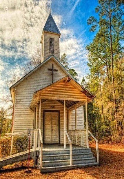 Country Church With Help Ramp