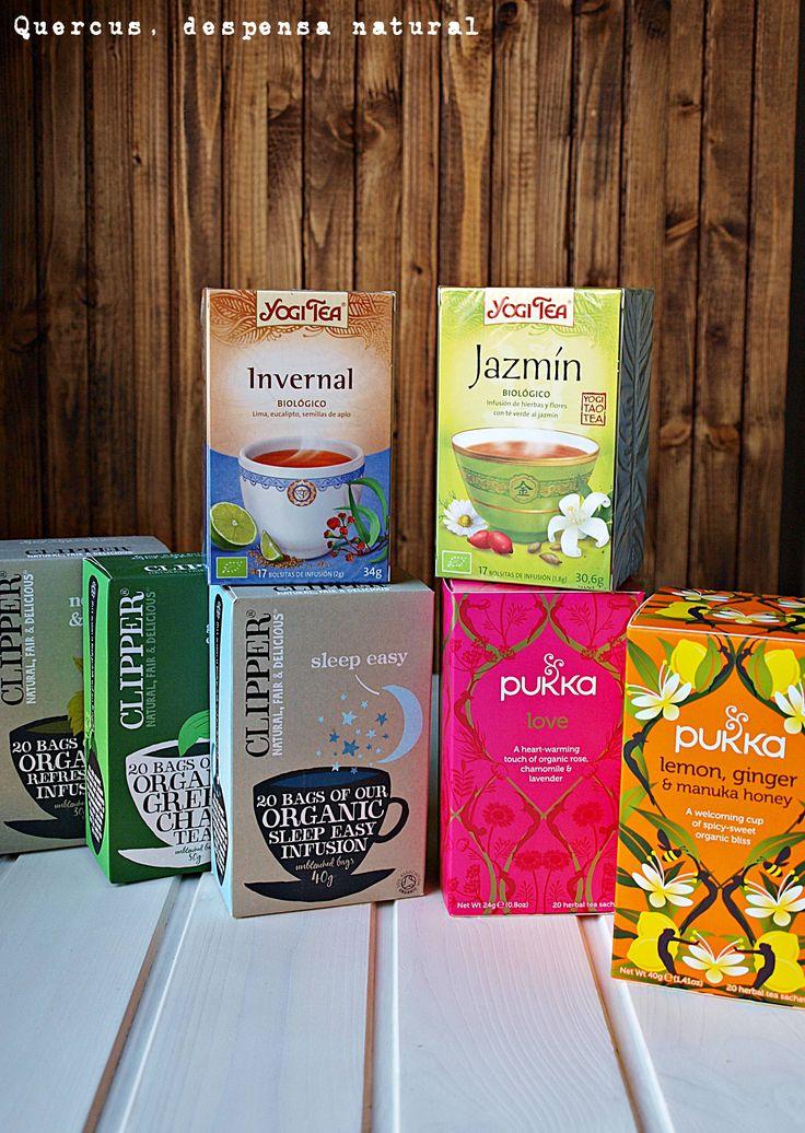 Clipper Teas, Pukka Herbs, Yogi Tea