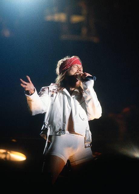 Axl Rose and Guns N' Roses perfoming live at Feyenoord Stadion, Rotterdam, Holland, June 23th 1992