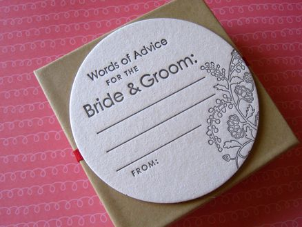 Cute wedding shower idea ...