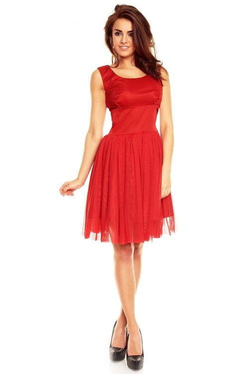 Balowa sukienka z tiulu KM130
