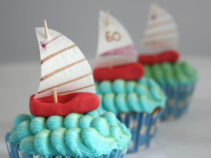 Sailing Cupcakes