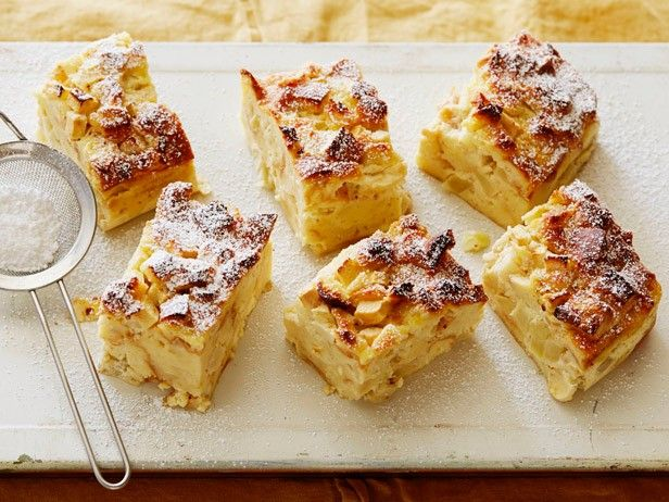 Apple Bread Pudding from CookingChannelTV.com