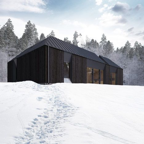 1942 best images about architecture on pinterest for Swedish prefab homes