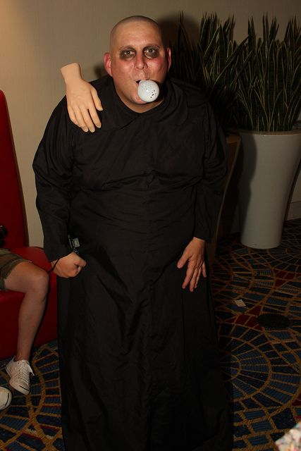 Uncle Fester and Thing