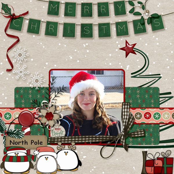 I used Have a Very Penguin Christmas by Dae Designs.