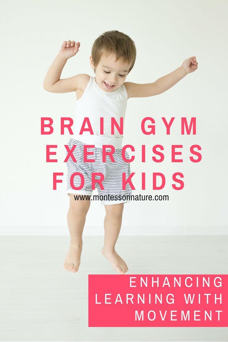 Enhancing Learning With Movement | Montessori Nature Blog | Gross Motor Activities in Preschool Classroom