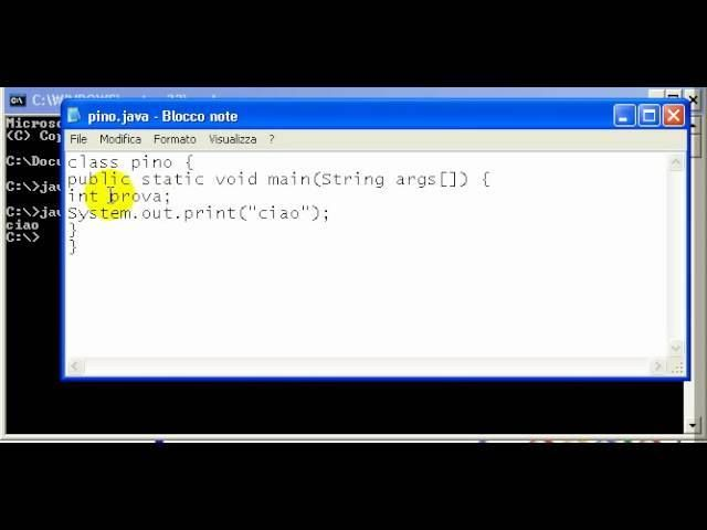 Tutorial 5 - Imparare Java - #Corso #Creare #Imparare #Insegna #Insegnare #Java #Lezione #Linguaggio #Programma #Programmare #Programmazione #Realizzare #Scuola #Software #Tutorial #Video http://wp.me/p7r4xK-PC