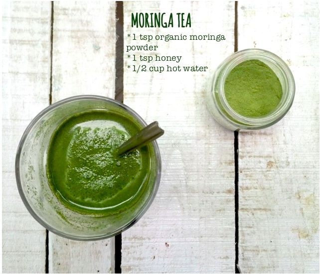 How to make Moringa Tea using Moringa leaf powder